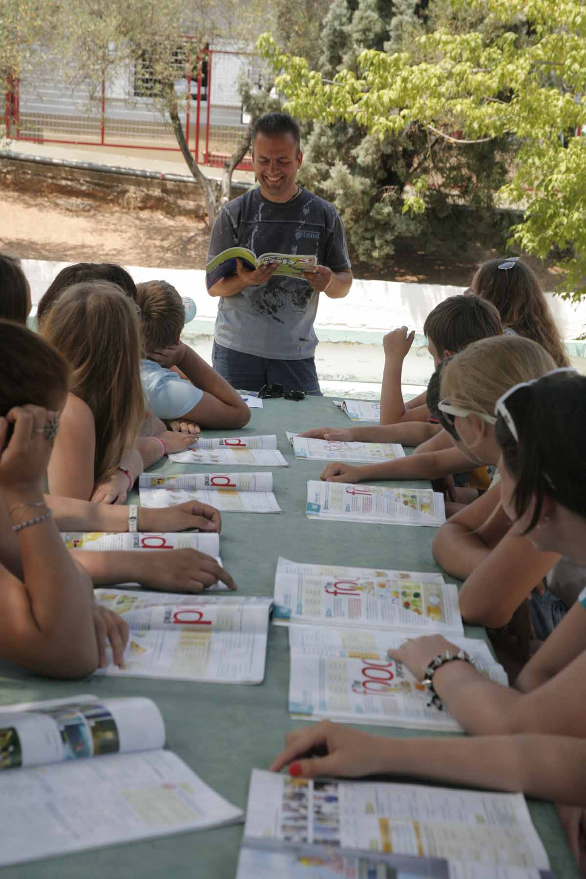 Skouras Sports and Language Camp
